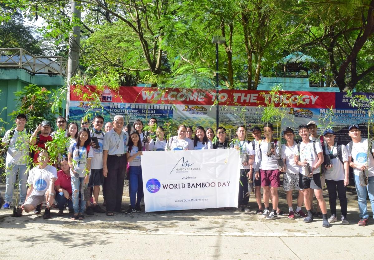 Marcventures celebrates World Bamboo Day 2018