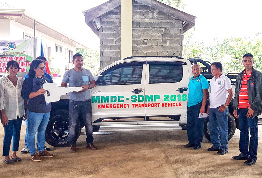 Panikian village receives brand-new vehicle from MMDC