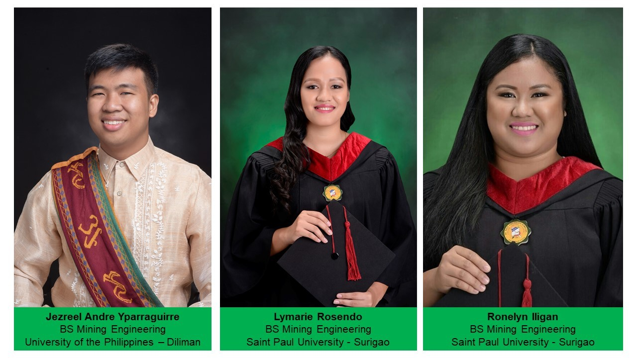 Hardworking MMDC Scholars are now licensed Mining Engineers