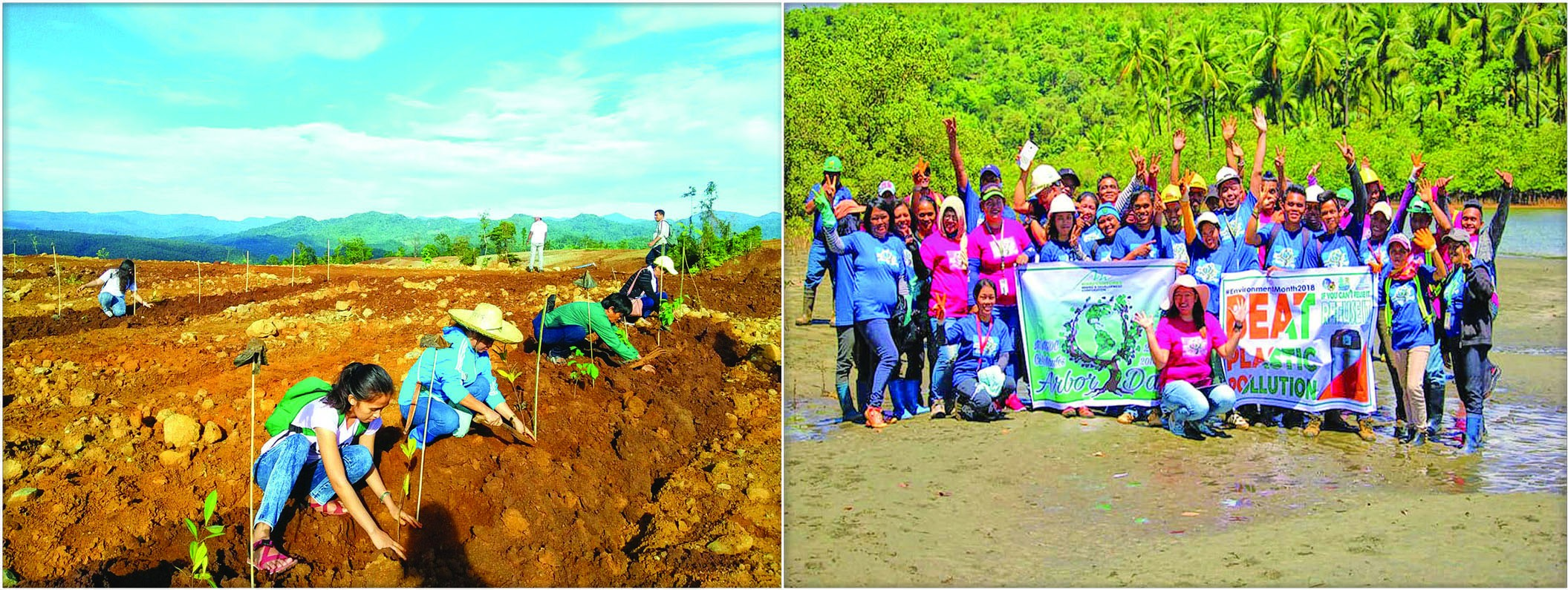 Over 1K trees planted, 350 kgs of wastes collected on Arbor Day 2018