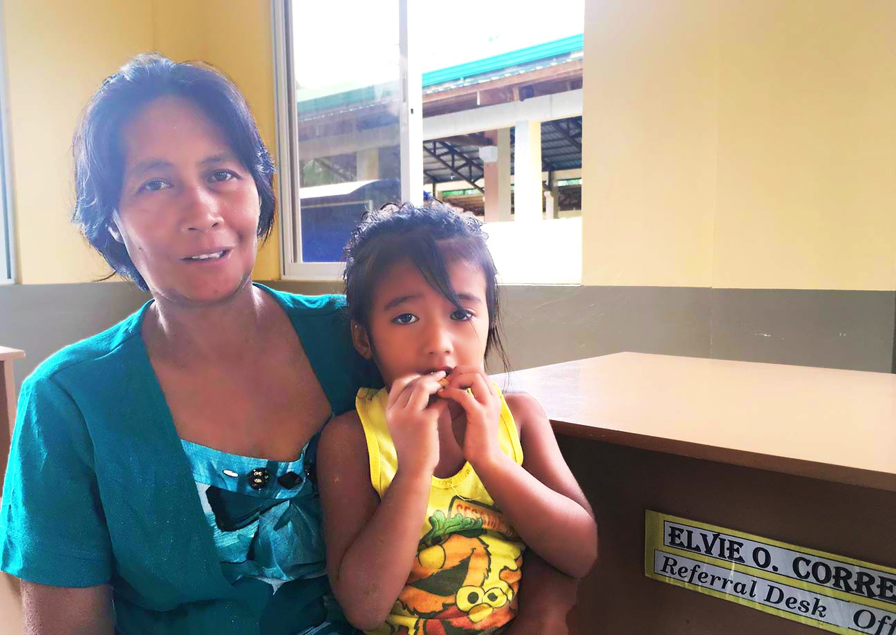 Cash aid helps families in crisis