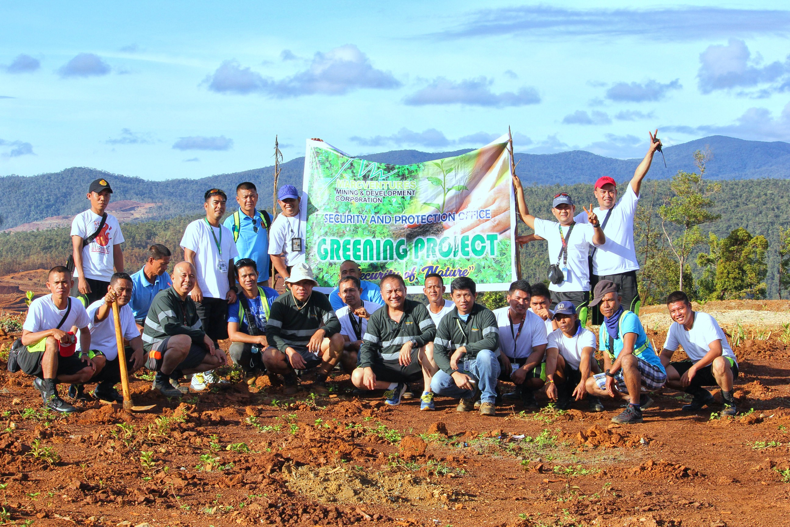 """Marcventures security team active in """"greening"""" mined out lands"""